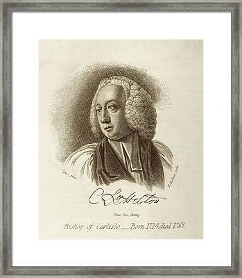 Charles Lyttelton Framed Print by Middle Temple Library