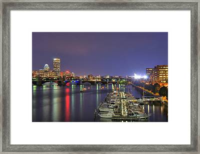 Charles River Country Club Framed Print by Joann Vitali