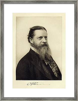 Charles Sanders Peirce Framed Print by Miriam And Ira D. Wallach Division Of Art, Prints And Photographs/new York Public Library