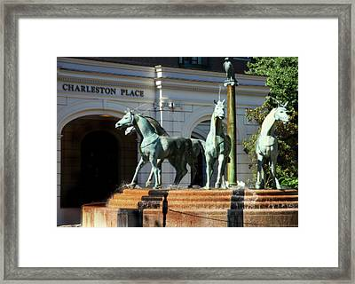 Charleston Place Framed Print by Karen Wiles