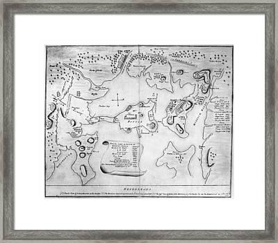 Charlestown, 1775 Framed Print by Granger