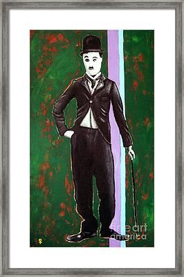 Charlie Chaplin Framed Print by Venus