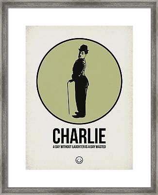 Charlie Poster 1 Framed Print by Naxart Studio