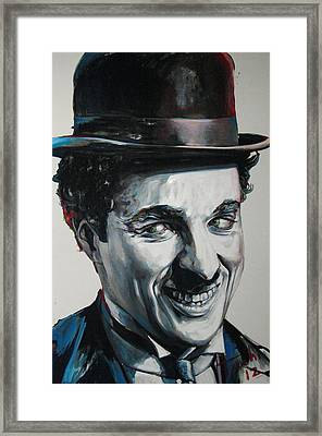Charlie Framed Print by Tachi Pintor
