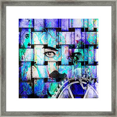 Charlot Framed Print by GANECH Graphics
