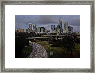 Charlotte Dawn Framed Print by Serge Skiba