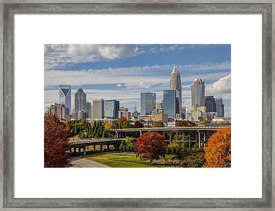 Charlotte Fall Framed Print by Chris Austin