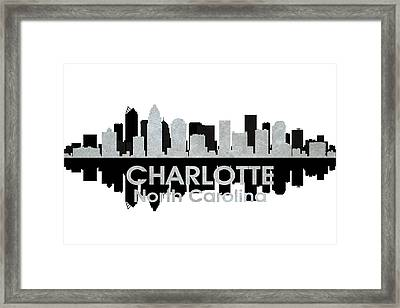 Charlotte Nc 4 Framed Print by Angelina Vick