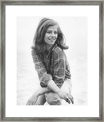 Charlotte Rampling Framed Print by Silver Screen