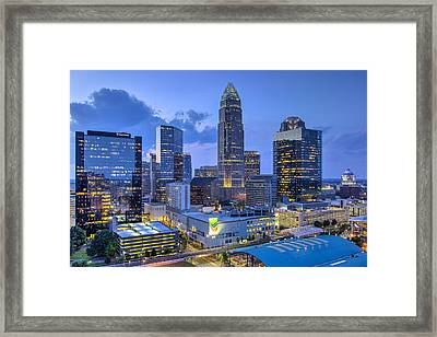 Rooftop View Framed Print by Chris Austin