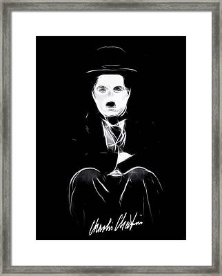 Charly The Tramp Framed Print by Stefan Kuhn