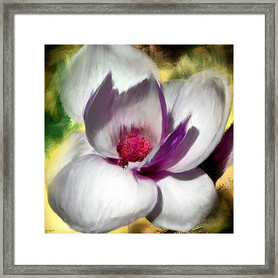 Charming Bloom Framed Print by Lourry Legarde