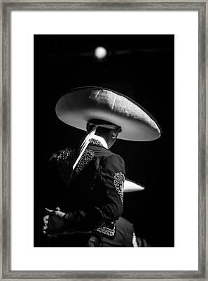 Charro Framed Print by William  Umana