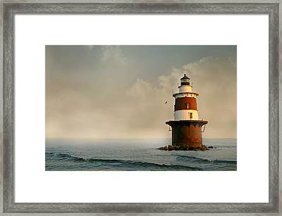 Chartered Course Framed Print by Diana Angstadt