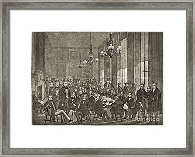 Chartists National Convention, 1839 Framed Print by Middle Temple Library