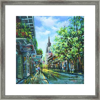 Chartres Afternoon Framed Print by Dianne Parks
