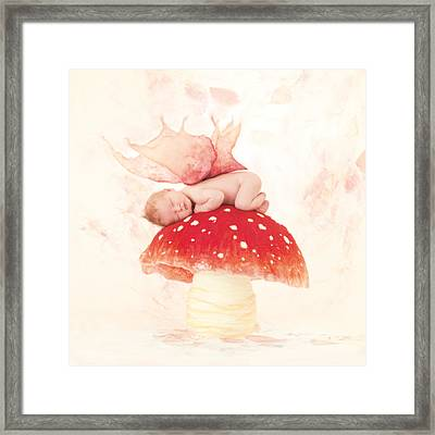 Chase Framed Print by Anne Geddes