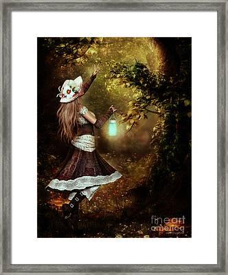 Chasing Magic Framed Print by Shanina Conway