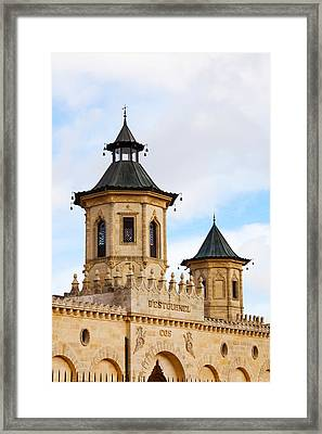 Chateau Cos Destournel Winery Framed Print by Panoramic Images