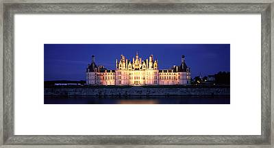 Chateau De Chambord Loire France Framed Print by Panoramic Images