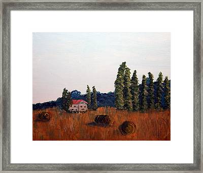 Chateau D'eauville Framed Print by Maura Satchell