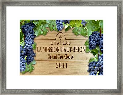Chateau Haut Brion Framed Print by Jon Neidert