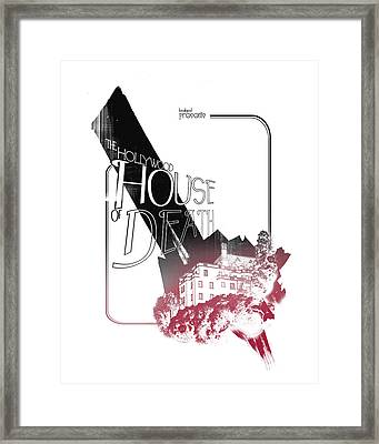 Chateau Marmont Framed Print by Pop Culture Prophet