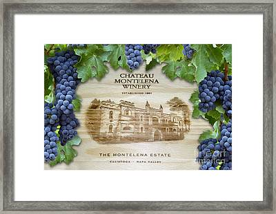 Chateau Montelena Framed Print by Jon Neidert