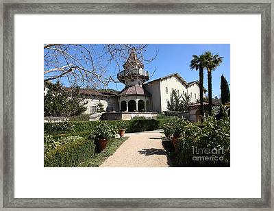 Chateau St. Jean Winery 5d22202 Framed Print by Wingsdomain Art and Photography