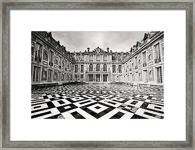 Chateau Versaille France Framed Print by Pierre Leclerc Photography