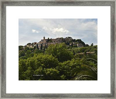 Chateauneuf Du Grasse Framed Print by Allen Sheffield