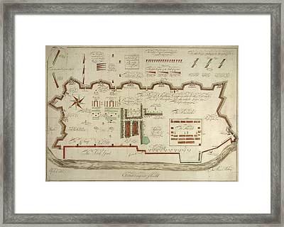 Chatham Camp Framed Print by British Library