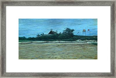 Chatham Lighthouse Framed Print by Erik Schutzman