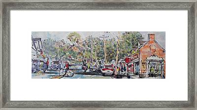 Chatham Thoroughfare Framed Print by Larry Lerew