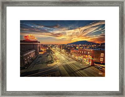 Chattanooga Choo Choo Framed Print by Steven Llorca
