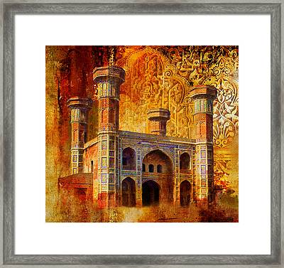 Chauburji Gate Framed Print by Catf