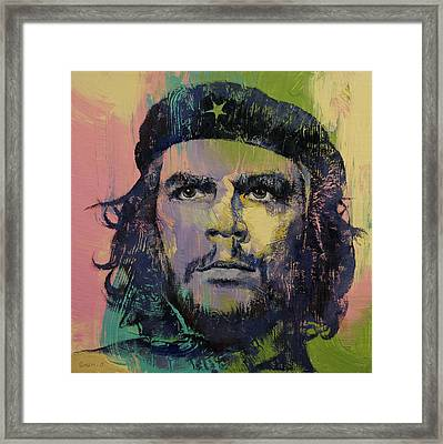 Che Guevara Framed Print by Michael Creese