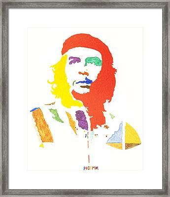 Che Guevara Framed Print by Stormm Bradshaw