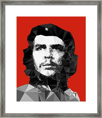 Che Guevara Framed Print by Vitaliy Gladkiy