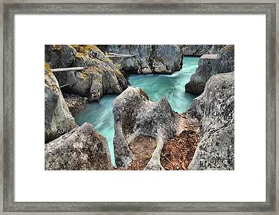 Cheakamus River Channel Framed Print by Adam Jewell