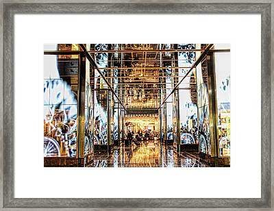 Check In Framed Print by Tammy Espino