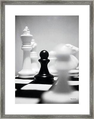 Check Framed Print by Thomas Woolworth