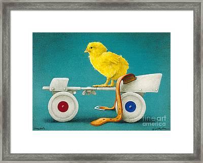 Cheepskate... Framed Print by Will Bullas