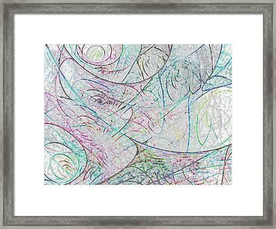 Cheerful Impression  Framed Print by Tatjana Popovska