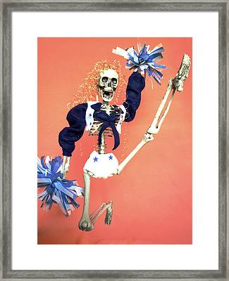 Cheerleader  Framed Print by Sandra Lewis