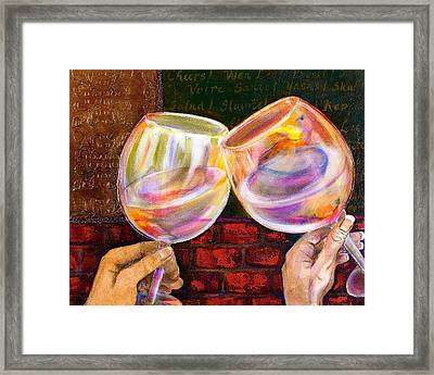 Cheers Framed Print by Debi Starr