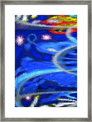 Cheers To A New Year Framed Print by Gwyn Newcombe