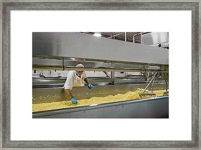Cheese Factory Framed Print by Jim West
