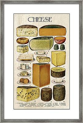 Cheese Lovers Panel  1907 Framed Print by Daniel Hagerman