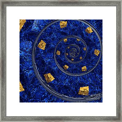 Cheese Sea By Jammer Framed Print by First Star Art